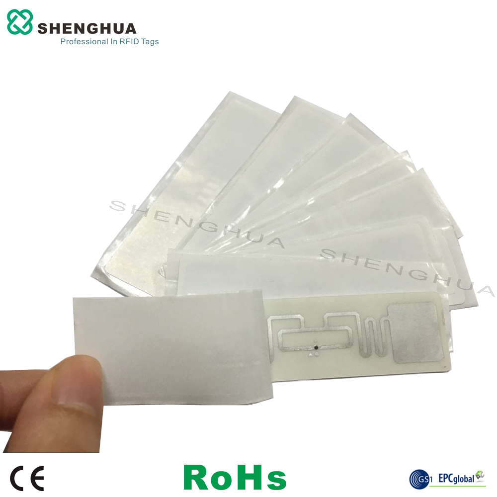 10pcs/lot Free Shipping UHF RFID Passive Smart Tag Adhesive Label Sticker Aluminum Etched Wet Inlay 9662 For Inventory Control