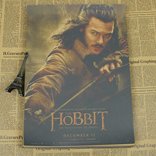 Hobbit Series 3 Poster Five Armies Lord of the Rings Lord of the Rings Bar Cafe decorative painting wall sticker