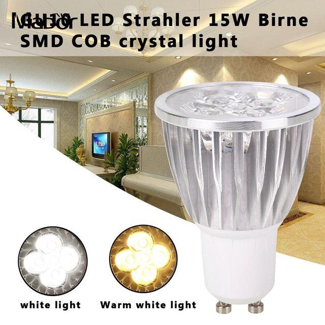 Eco-Friendly Spotlight Bulb LED Bulb Indoor Outdoor Lighting Fixture 220V 15W Aluminum Durable Long