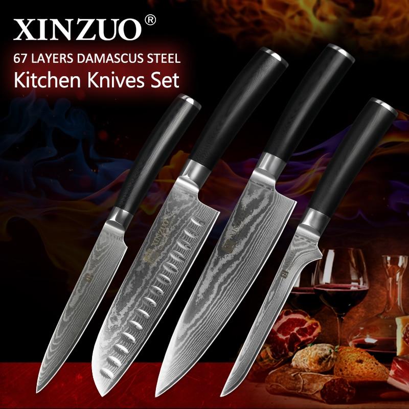 to buy kitchen knives aliexpress com buy xinzuo 4pcs kitchen knives sets
