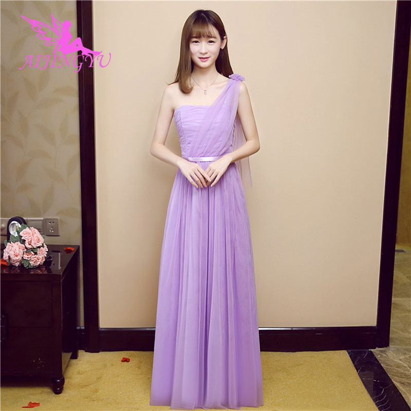 AIJINGYU 2018 sexy   bridesmaid     dresses   elegant   dress   for wedding party