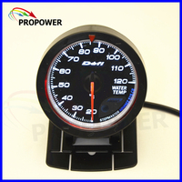 2 5 60MM DF Advance CR Gauge Meter Water Temp Temperature Gauge Black Face With Temp