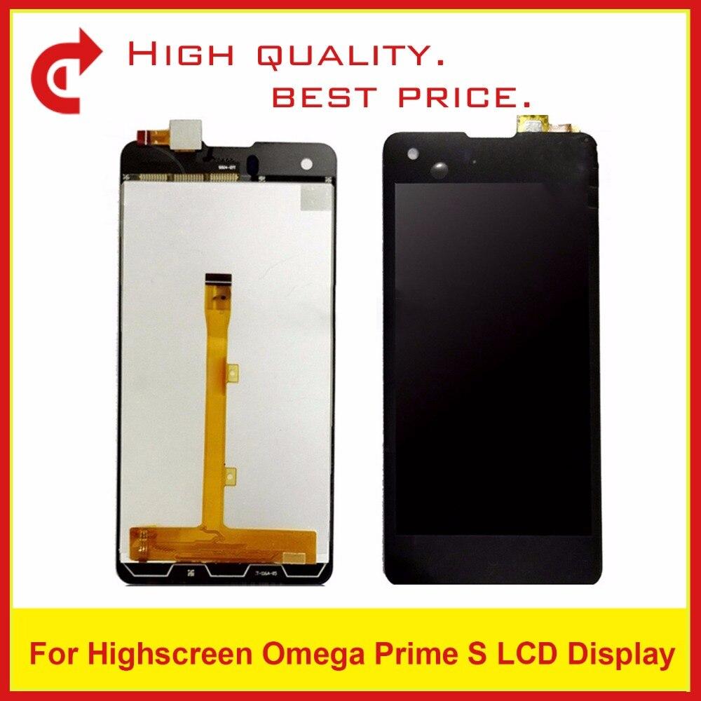 Haute Qualité 4.7 Pour Highscreen Omega Premier S Lcd Affichage Écran Tactile Écran Numériseur Assemblée D'écran