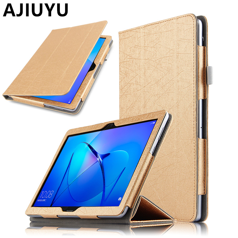 Case For HUAWEI MediaPad T3 10 Case Cover PU Leather AGS-W09 AGS-L09 L03 Tablet Honor Play Pad 2 Protective T3 10.0 Case 9.6 leather case for huawei mediapad t3 10 9 6 slim stand holder wallet cover honor play pad 2 ags l09 ags l03 protector