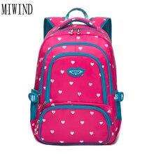 Точка печати сумка рюкзак рюкзаки школьные сумки для подростков девочек элегантный дизайн Водонепроницаемый Школьный Сумки дорожные BagTQC038