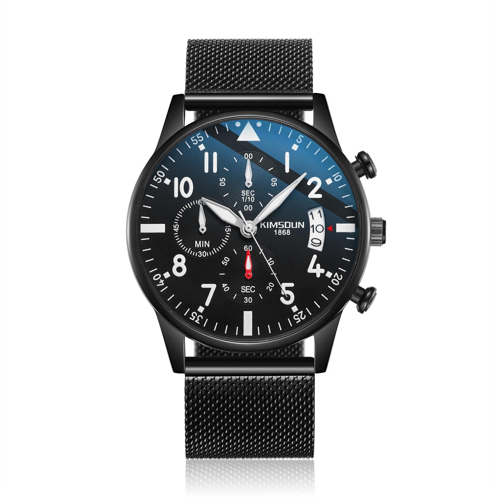 KIMSDUN 2019 Mens Watches Top Brand reloj militar Sports