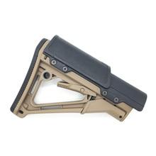 Игрушка Спорт на открытом воздухе jinming mkm2 ремонт AR серии CTR прикладом винтовка подбородок патч черный песок CTR v2 нейлоновая модель бластер счастливый