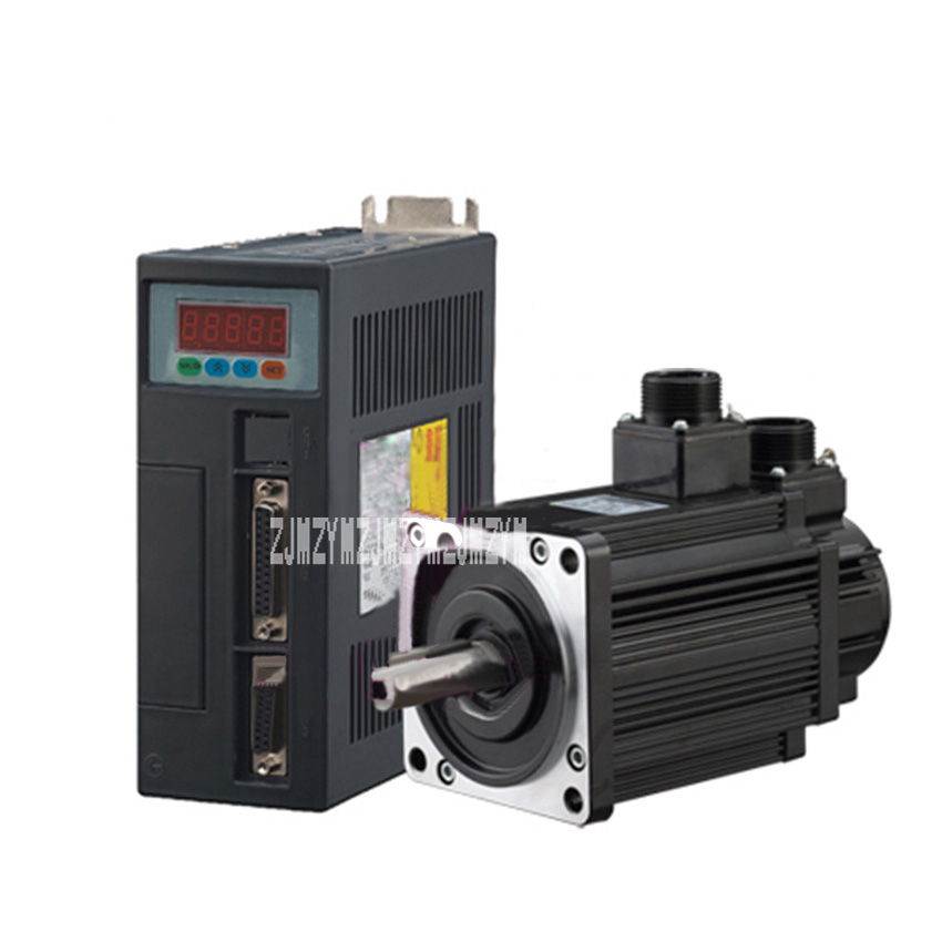 New AC servo motor drive Kits 1.5KW Servo System Servo Motor 30ST-M06025 AC 6N.M 22mm 2500rpm 220V dcs810 leadshine digital dc brush servo drive servo amplifier servo motor controller up to 80vdc 20a new original