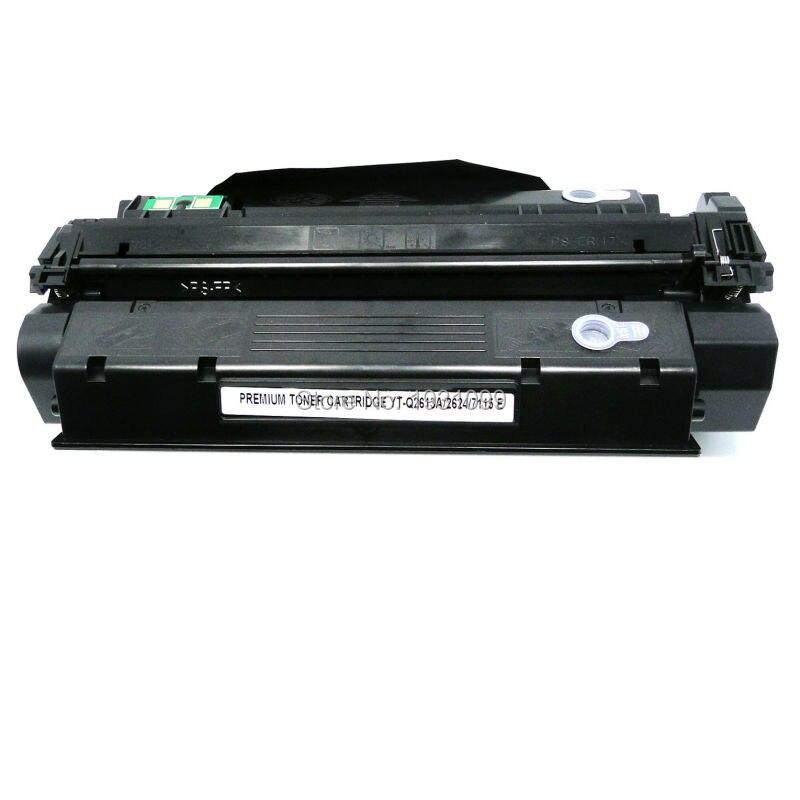 ФОТО 1PCS Refillable toner cartridge Q2624A 24A for HP LaserJet 1000 1005 1200 1220 3300 3310 3320 3330 3380 Printer Series