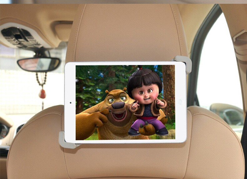 תכליתי לוח משענת הראש תושבת המכונית מחזיק אוניברסלי הר משטח מחזיק מעמד עבור iPad Mini ipad 4 אייפד 2 אייפד 3 E-book