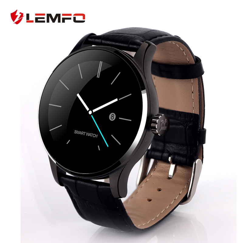 LEMFO K88H MTK2502 Bluetooth Smart Watch Heart Rate Monitor Pedometer for IOS Android Phone lemfo lem5 android 5 1 smart watch phone 1gb 8gb heart rate monitor pedometer google map smartwatch bluetooth for ios android