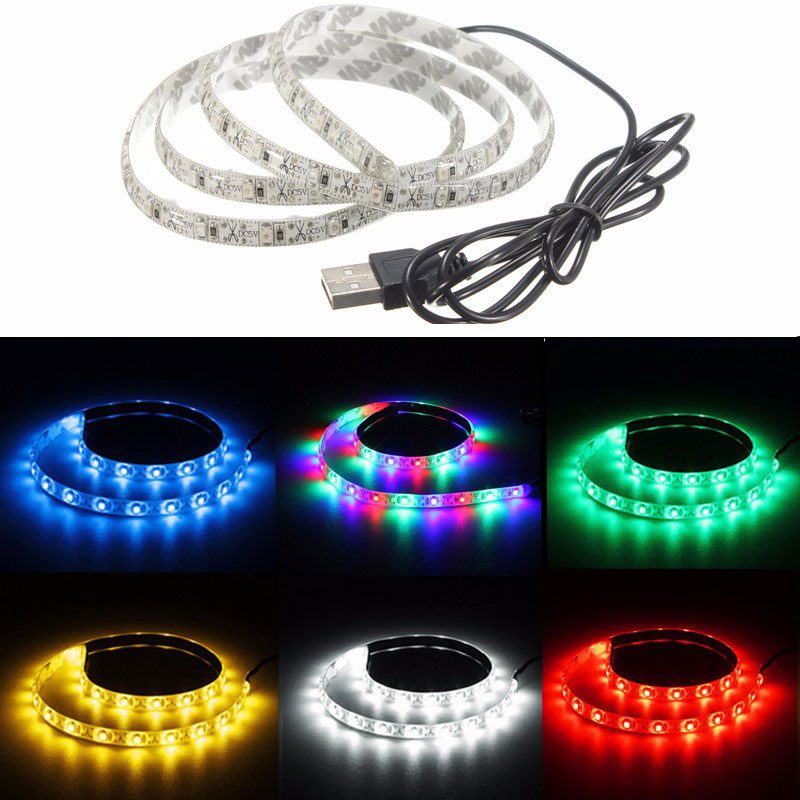 High Quality Waterproof USB Power Garden Light Outdoor 0.5M 30Leds Super Bright 3528SMD LED Strip