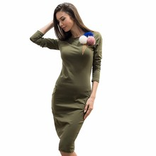 Size S M L Blue Black Green New fashion women's autumn winter hoodies o-neck Venonat ice cream high quality dress
