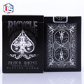 New Ellusionist Black Ghost Deck Bicycle Second Edition Playing Cards Magic Tricks Magic Poker Card Magic Toy