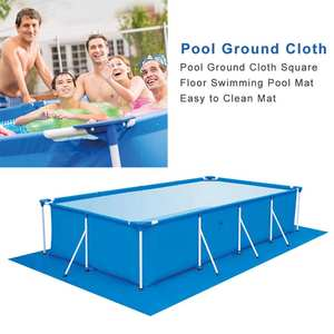 Lip-Cover Floor-Cloth-Mat Garden Pool Swimming-Pool Round Dustproof Outdoor Large-Size