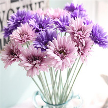 Artificial Gerbera Flower Sun Home Decoration Fake Flowers Wedding Gifts for home