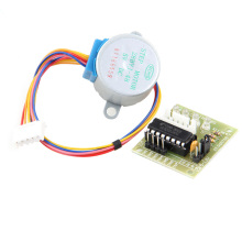 цена на DIY 28BYJ-48 5V 4 Phase DC Stepper Step Motor + ULN2003 Driver Board for Arduino