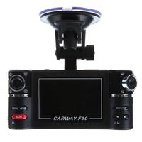Free Shipping Dual Camera F20 Car DVR With Night Vision