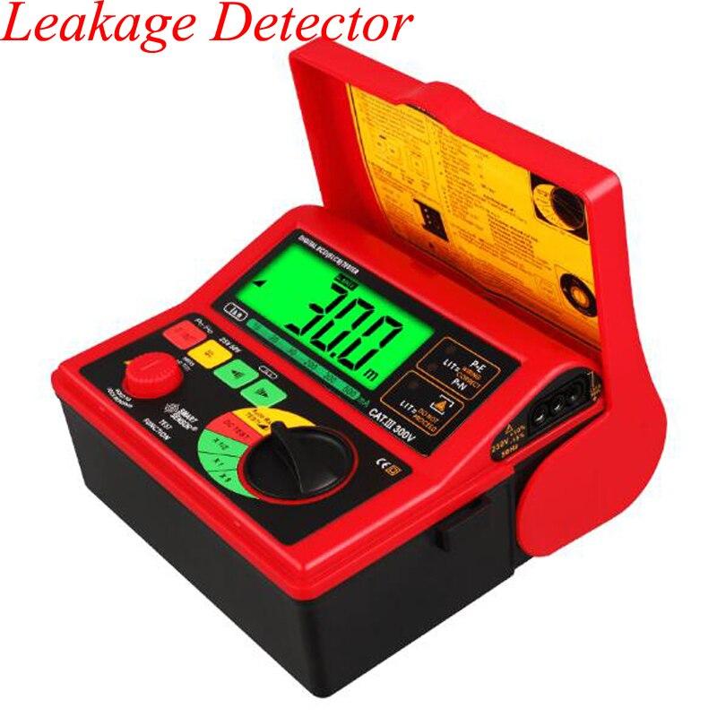 Testeur électronique de commutateur de fuite monophasé numérique RCD ELCB testeur de courant de fuite testeur de protecteur de Test AR5406