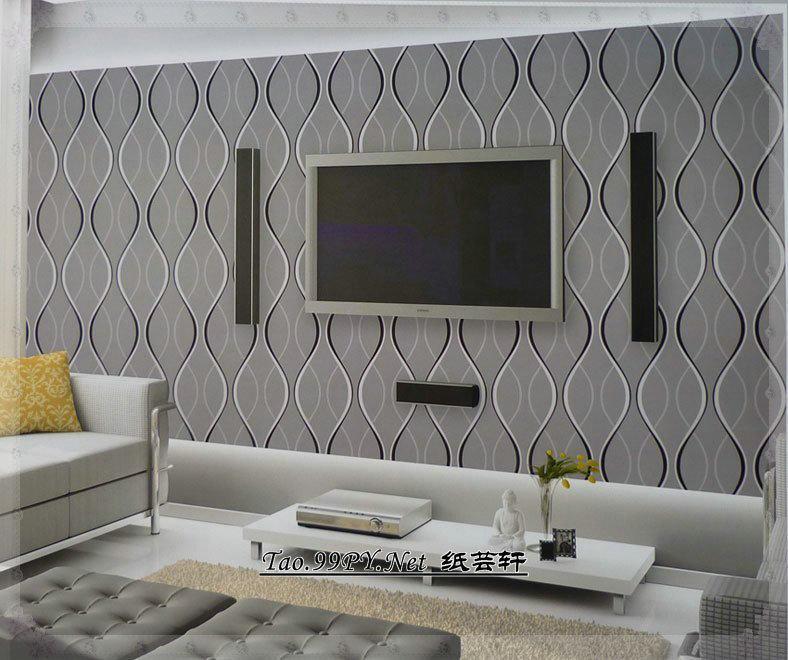 Wallpaper modern brief wallpaper clqx ofdynamism curve - Luz led cocina ...