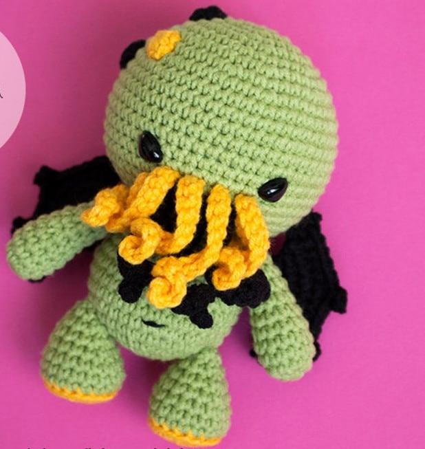 Crochet Toys  Amigurumi Cthulhu  Model  Number  W4130