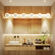 NEO Gleam LED Bathroom lights 40/60/80/100/120cm Mirror Front Wall Lights dresser Modern Brief lamp