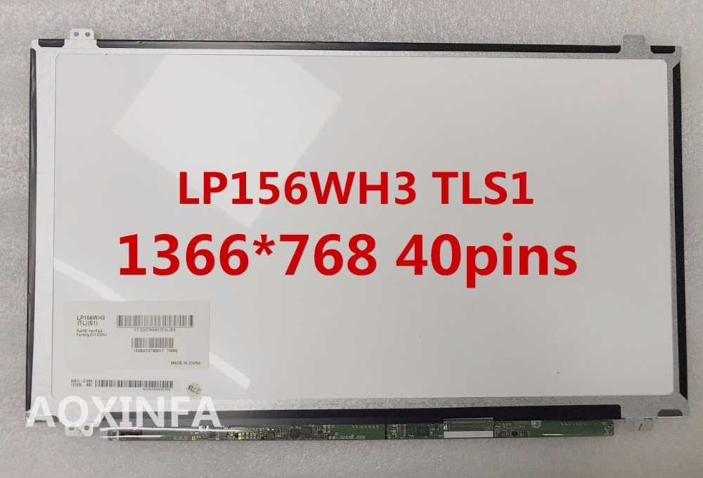 Free shipping LP156WH3 TLS1 LP156WH3 B156XW04 B156XTN04.2 LTN156AT20 LTN156AT30 LTN156AT35 N156BGE-L41 40PIN Laptop LCD Screen n156bge l41 rev c1 fit 40pin ltn156at29 l01 h01 401 lp156wh3 tla1 tlab tlc1 tla2 tla3 tll3 tle1 tls1 tls2 tlf1 tld1