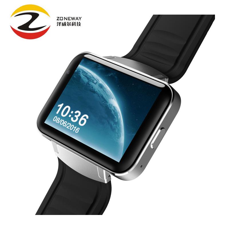 Prix pour Dm98 smart watch mtk6572 dual core 2.2 pouce hd ips écran led 900 mAh Batterie 512 MB Ram 4 GB Rom Android 4.4 OS 3G WCDMA GPS WIFI