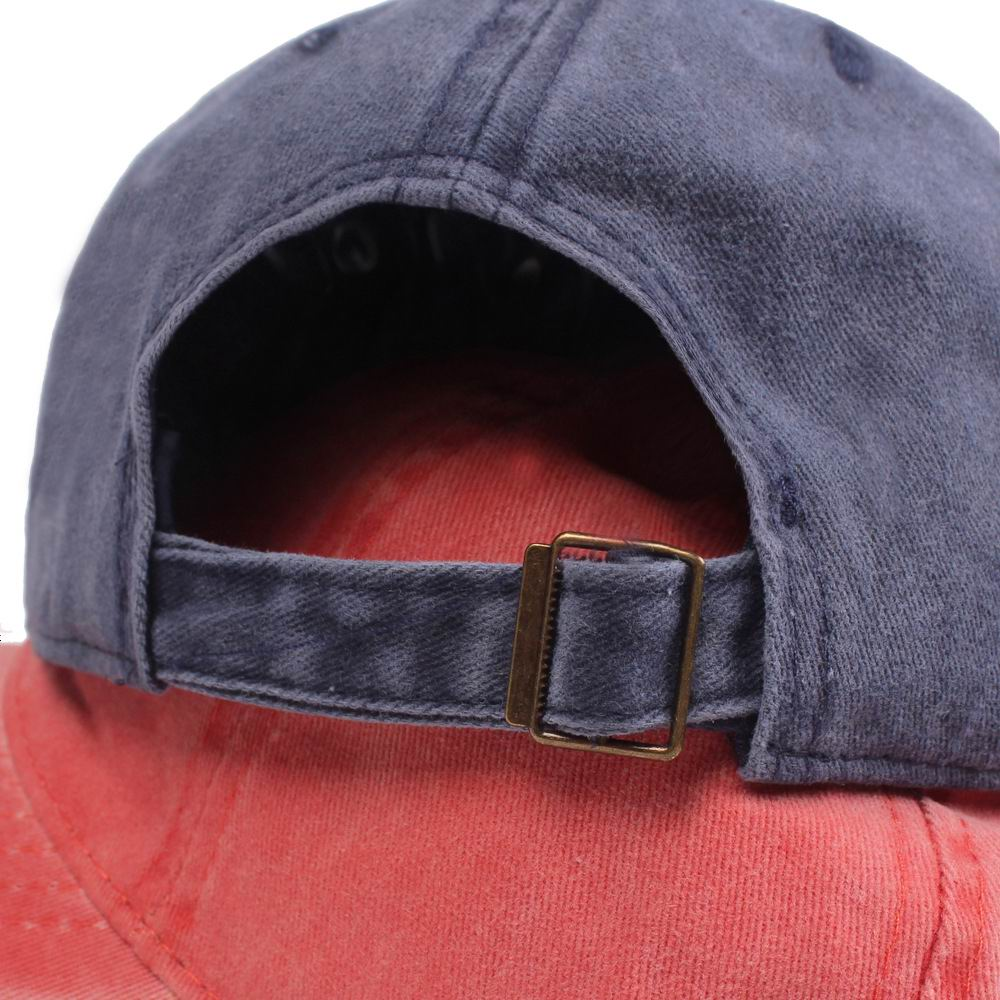 Kagenmo zmiękczana bawełna Retro czapka z daszkiem dla mężczyzn dopasowana czapka czapka typu Snapback dla kobiet Gorras Casual Casquette haftowana litera Cap