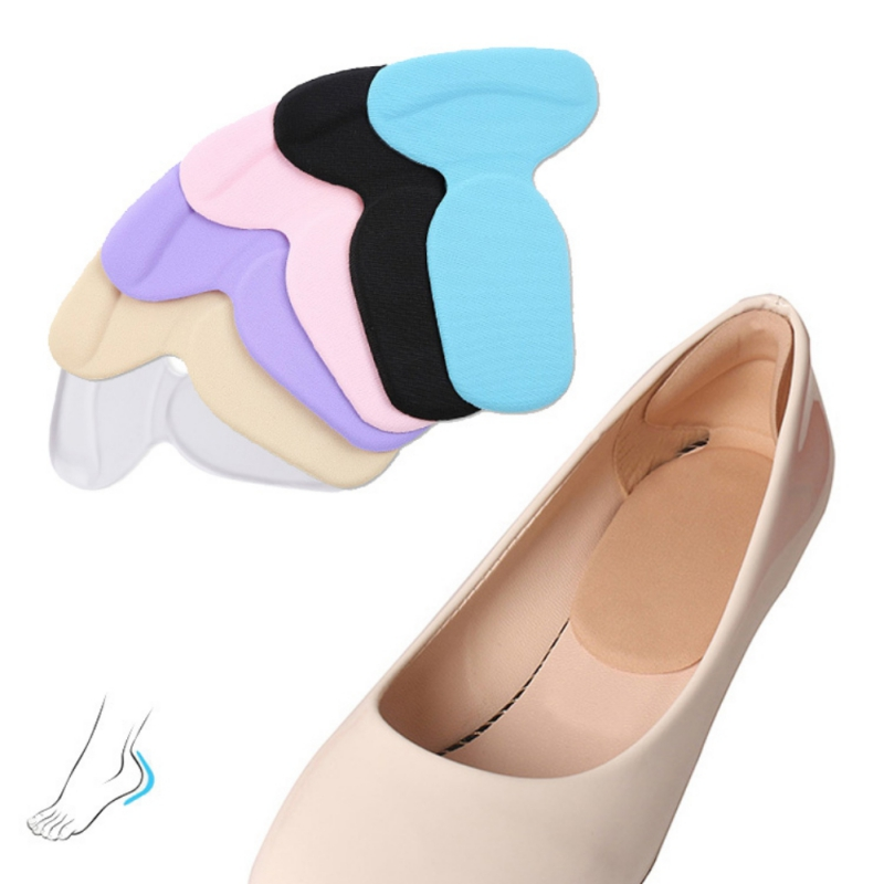 Foot Care Heels Gel pad Insoles tools anti-friction heel gel pad slim patch orthopedic shoes for Women