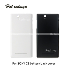 Battery Back Housing For Sony Xperia C3 D2502 D2503 D2533 T3 D5102 D5103 D5106 Rear Battery Cover Door Case Back Cover Housing all tested lcd screen digitizer display assembly for sony xperia t3 m50w d5102 d5103 d5106 black white free shipping
