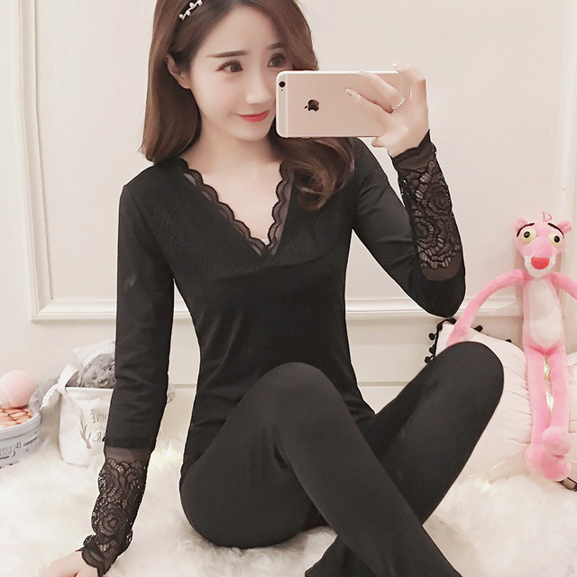 Yidanna 2018 robe sexy   pajamas     set   for women nightwear plus size winter Polyester costume lace nighties female pijamas sleepwear