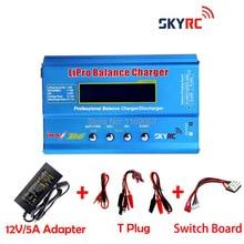 Envío gratis Original IMax B6 2 s – 6 s 7.4 v – 22.2 v Lipo NiMh cargador del Balance + adaptador ( reemplazo ) + interruptor