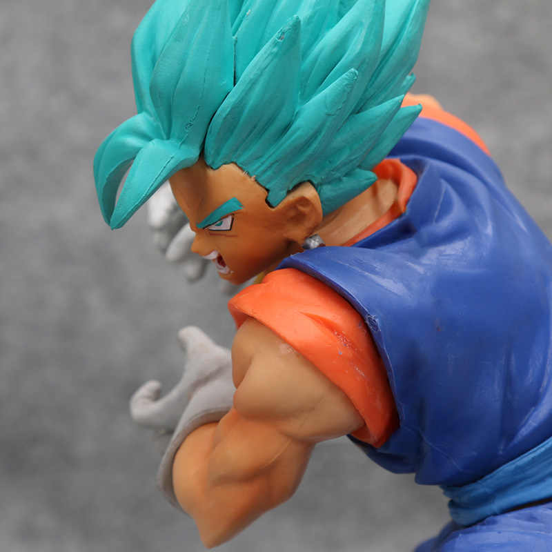 Dragon Ball Super Saiyan Deus SS Vegetto FINAL KAMEHAMEHA DragonBall Z Goku Vegeta Action Figure Toy Modelo
