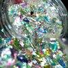 wholesale Multi-flakes chrome nail Galaxy Holo flakes Rainbow Unicorn Skin Flakes magical shifting flakies for nails