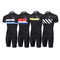 2016 Cycling Jersey Short Sleeve Bicycle Wear Kit Pro Team 3D Pad Outdoor Sports Mtb Cycling
