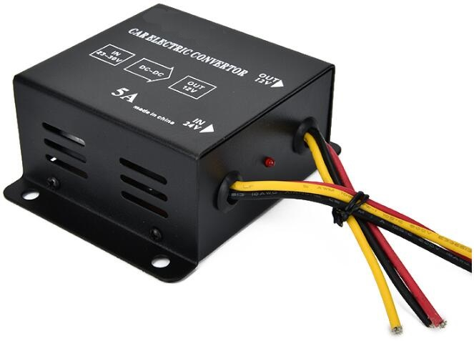 Free Shipping DC <font><b>24V</b></font> <font><b>to</b></font> DC <font><b>12V</b></font> 5A 15A 20A 30A <font><b>40A</b></font> Power Inverter Converter Transformer Power Supply image
