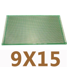 1 шт. 9X15 см двухсторонний медный прототип печатной платы универсальная печатная плата для Arduino DIY доска для экспериментов