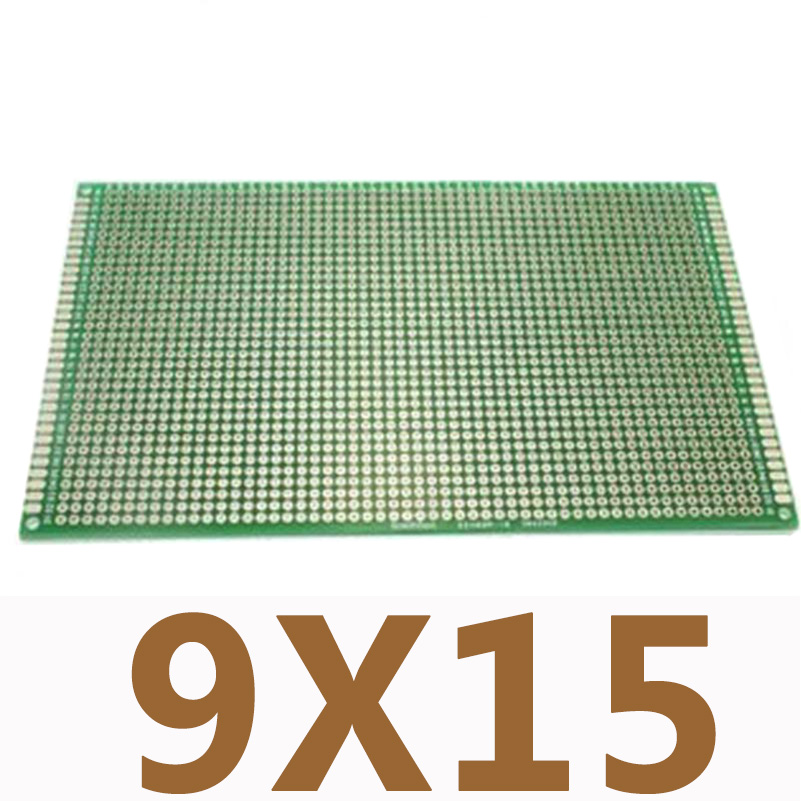 1PC 9X15cm Double Side Copper Prototype PCB Universal Printed Circuit PCB Board for Arduino DIY Experiment Board1PC 9X15cm Double Side Copper Prototype PCB Universal Printed Circuit PCB Board for Arduino DIY Experiment Board