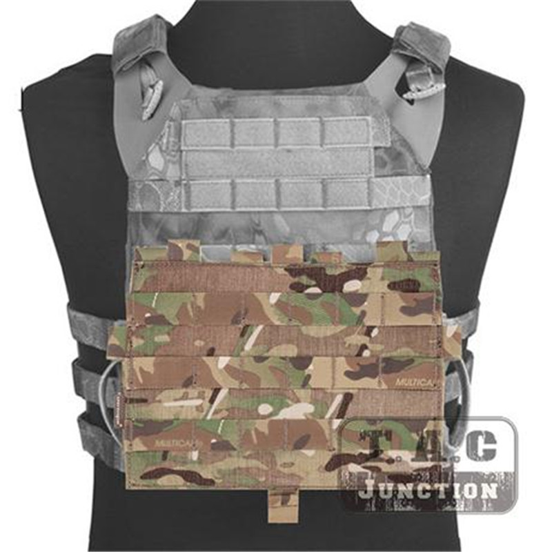 Emerson CP Style Detachable Front MOLLE Panel EmersonGear Tactical MOLLE Modular Platebag For AVS & JPC2.0 Vest Hook & Loop