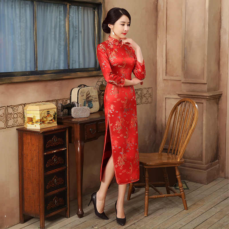 Платье В Стиле Китая