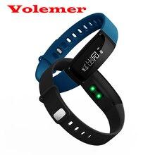V07 oled сенсорный экран bluetooth 4.0 blood pressure test смарт браслет браслет heart rate monitor фитнес tracker pk mi band2