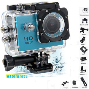 """Image 1 - Water proof Mini Camera Full HD 1080P Action Sport Camcorder Outdoor For Gopro Style Go Pro 2"""" Screen Cam Recorder DV resistant"""
