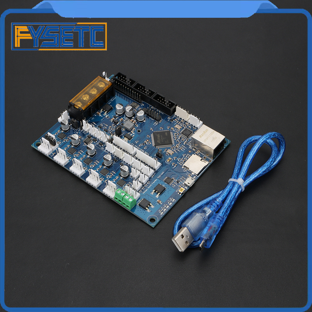 Latest Version Cloned Duet 2 Maestro Advanced 32bit Motherboard For 3D Printer CNC Machine