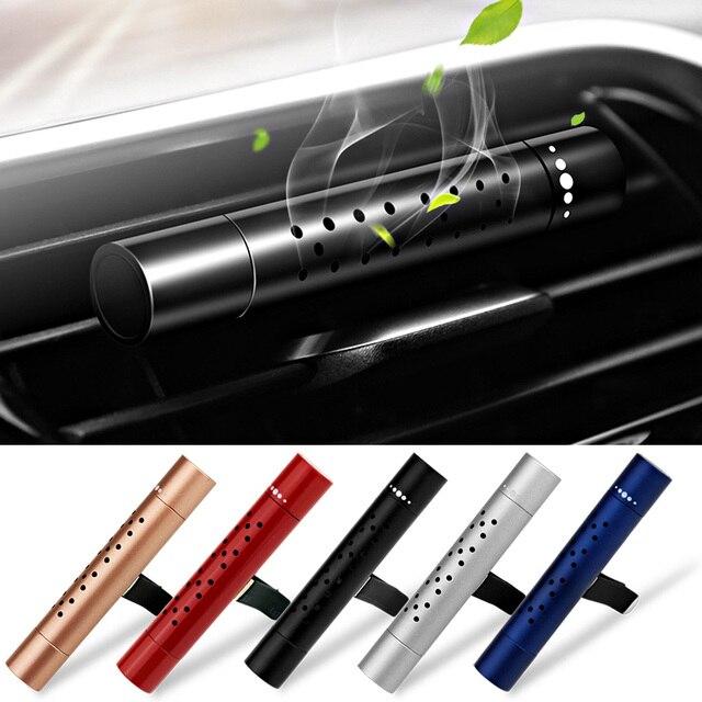 Carro interior ambientador tomada aromaterapia fragrância perfume carro sólido bálsamo ar condicionado duradouro fragrância