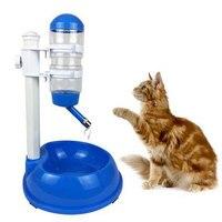 500 мл пластиковая бутылка для собак, кошек, фонтан питьевой воды для домашних животных, дозатор для воды, товары для домашних животных, автом...