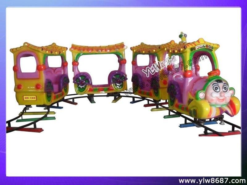 Электрический Железнодорожный поезд, Детская аттракцион, Детская аттракцион