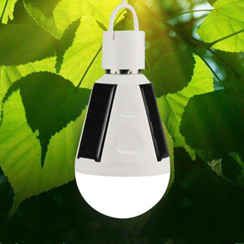 2018 Solar Emergency Light LED Solar led Bulb Outdoor 12W 7W Waterproof Garden Light Home Energy-saving Lighting lampe solaire