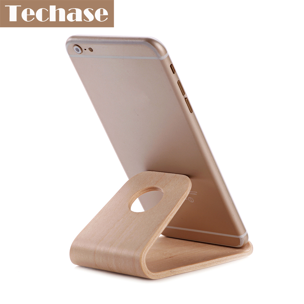 Comprar titular de teléfono móvil de madera para accesorios de - Accesorios y repuestos para celulares - foto 3