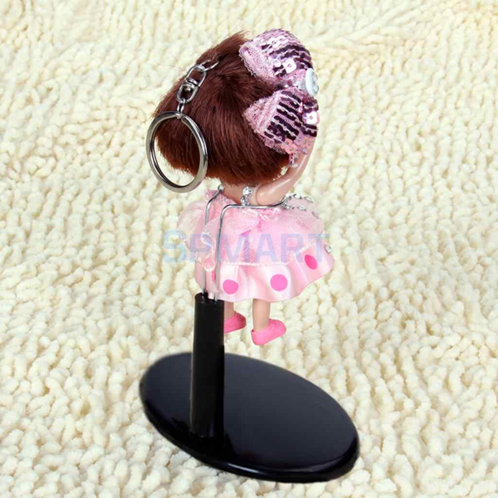 Detachable Ring-type Doll Bear Display Stands Base Support for Action Figure